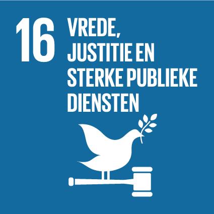 16. Vrede, justitie en sterke publieke diensten