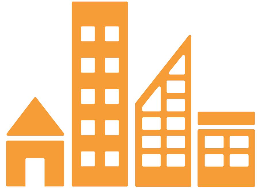 11. Duurzame steden en gemeenschappen - Icoon