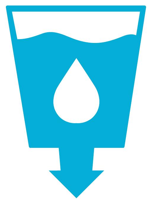 6. Schoon water en sanitair - Icoon