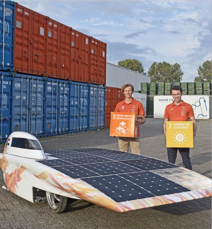 Max en Mees, Vattenfall Solar Team