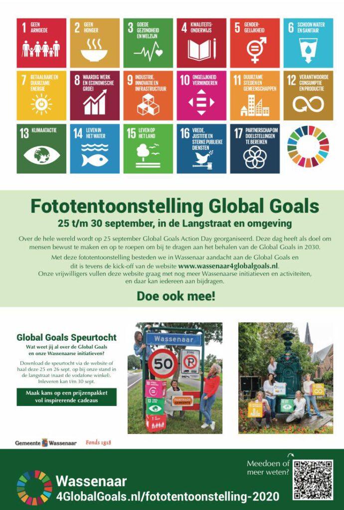 Advertentie Krant - Fototentoonstelling Wassenaar4GlobalGoals