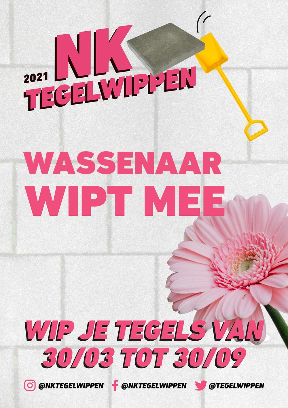 NK tegelwippen Wassenaar