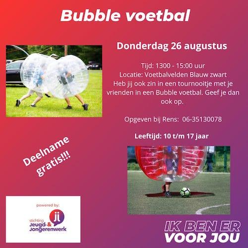 Jongerenwerk bubble voetbal