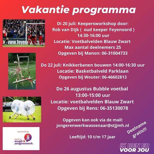 jongerenwerk programma
